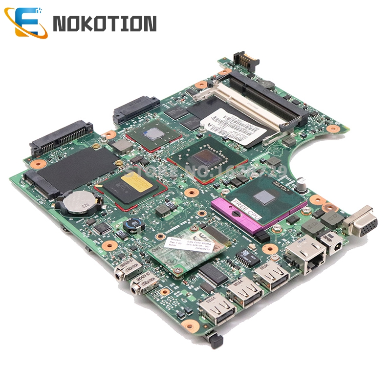 NOKOTION for HP Compaq 6520s 6720s 6820s Series Laptop Motherboard 456613 001 456610 001 Main board PM965 free cpu works-in Laptop Motherboard from Computer & Office    2