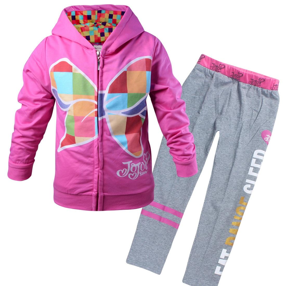JOJO Siwa/комплекты для малышей от 4 до 12 лет модная уличная рубашка с длинными рукавами пальто на молнии Одежда для маленьких девочек из 2