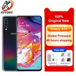 """Image 1 - Nuovo Samsung Galaxy A70 A7050 Del Telefono Mobile 6.7 """"8GB di RAM 128GB di ROM Snapdragon 675 Octa Core 20:9 goccia dacqua Schermo NFC Cellulare"""