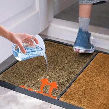 Estilo nórdico, Simple, transpirable, absorbente, Anti-salida de escape, alfombra de suelo, alfombra,...
