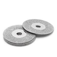 5 шт. 50 мм Diamonte отрезные диски сверло бит хвостовик для вращающийся инструмент лезвие