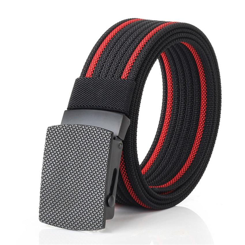 Military Canvas Belt Men Adjustable Nylon Army Tactical Belts Outdoor Sport Weave Male Brand Waist Belt Cowboy Jeans Pants Strap