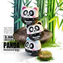 Minuterie de compte à rebours de 60 Minutes, joli dessin animé Panda, alarme, cadran de cuisson, rappel de compteur, accessoires de cuisine