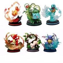 Tomy – figurines Pokemon Pikachu, Charmeleon, Mewtwo, Eevee, jouets d'action, dessin animé, cadeaux pour enfants, nouvelle collection