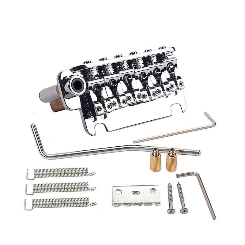 Elektrische Gitaar Tremolo Systeem Messing Brug Zadels M7DC