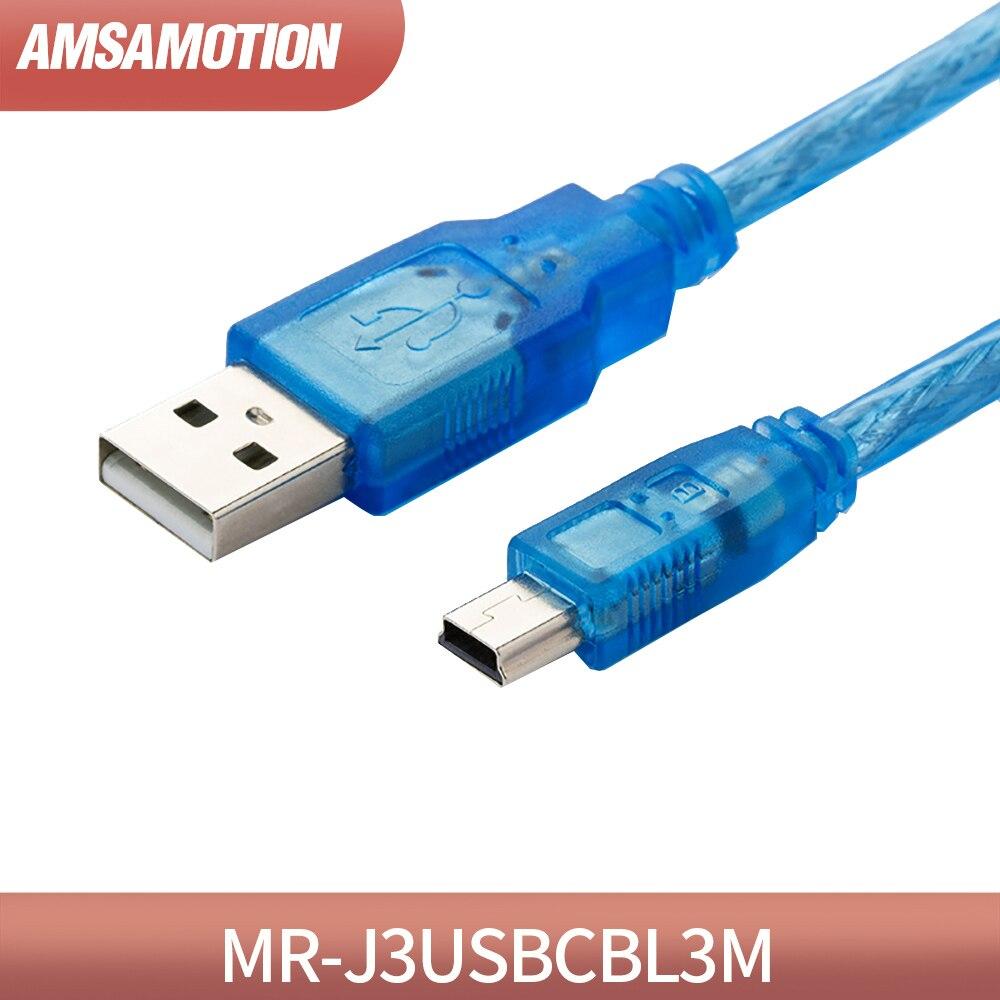 Programming cable MR-J3USBCBL3M for Mitsubishi MR-J3 Series Download Cable 3M