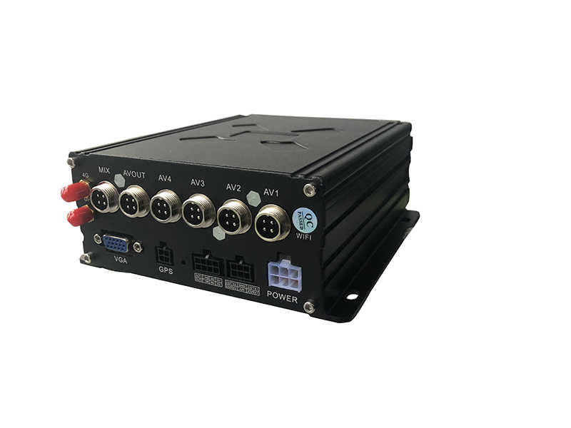 1080P 4G Gps Wifi 4CH Video Mobiele Dvr Hd Voertuig Hdd Dvr H.265 4 Kanaals Hdd Bus Fleet dvr Surveillance Video Recorder