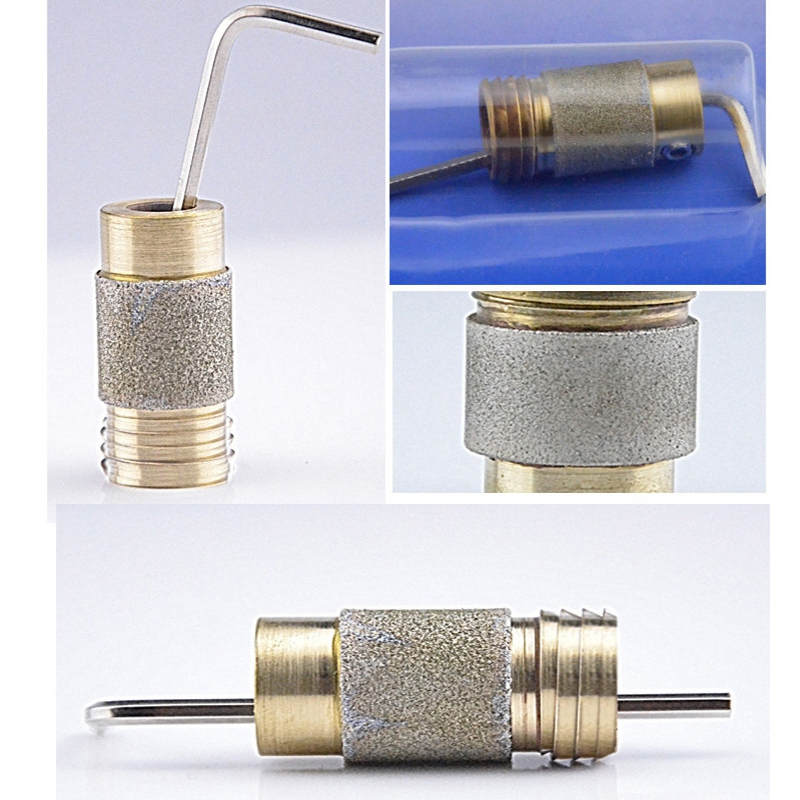 5/8 Inch Diamond Grinding Head Helix Diamond Copper Bit Grinding And Polishing Glass Ceramics Helix Diamond Copper Bit MCBL58