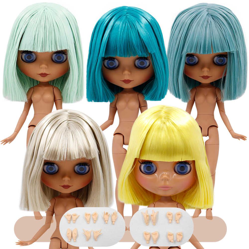 DBS 1/6 קפוא bjd Blyth הבובה 30cm משותף גוף קצר שמן שיער כולל יד סט AB באיכות גבוהה מיוחד מציעים ילדה ילד מתנת צעצוע