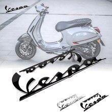 Decalque da motocicleta 3d adesivos para vespa emblema adesivos decalque gts lx lxv lt px 50 125 150 250 300ie sprint primavera super