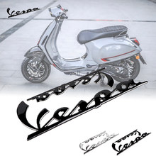 Motocicleta 3d emblema adesivos itália para piaggio vespa gts300 lx125 lx150 125 150 ie sprint primavera 300 lx lxv super adesivo