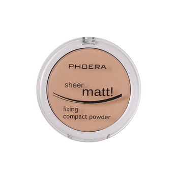 PHOERA Concealer Powder Matte Pearl Finishing Powder Face Lasting Oil Control Powder Foundation Brighten Makeup Cosmetics TSLM1 o two o 8 colors face pressed powder makeup pores cover hide blemish oil control lasting base concealer powder cosmetics 9114