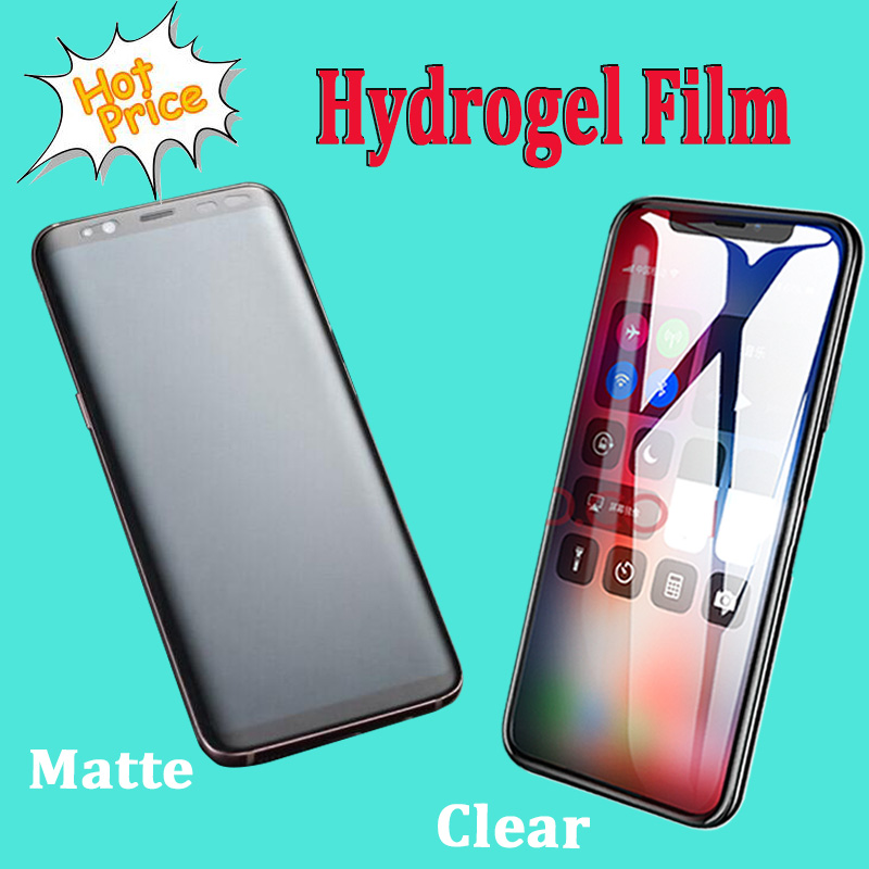 100pcs hydrogel film For Huawei P50 Pro/P40/Mate 30 Pro/P30 Pro/Mate 40 Pro/P20 Pro Full hydrogel film Soft screen protector