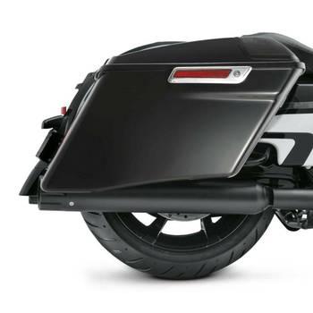 """Motorcycle Left & Right 4"""" CVO Extended Saddlebag For Harley Touring Road King Street Glide FLT FLHT FLHTCU FLHRC 14-19 18"""