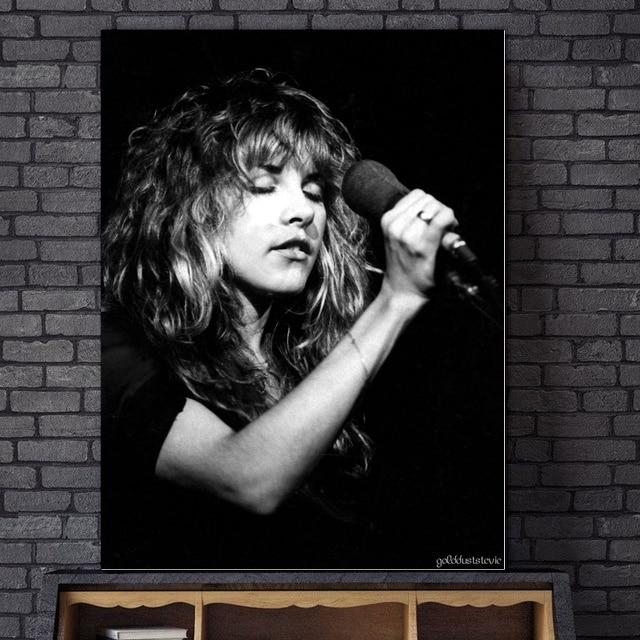 Stevie Nicks Custom Silk Poster Wall Decor