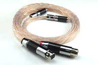 Hifi RCA to XLR Cable High Perfomance 2 XLR Female to 2 RCA Male Cable