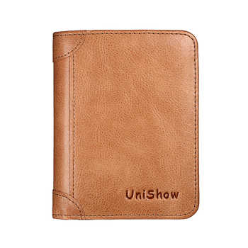Luxury Leather Women Wallet 2020 Small Women Purse Multifunction Cow Leather Female Wallet Short Brand Genuine Leather Purse