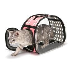 Универсальная сумка-переноска для кошек и собак, прозрачная складная сумка для кошек, рюкзак для домашних животных, видимая коробка для переноски, товары для собак 5