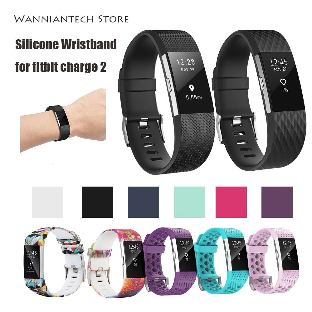 Купить ремешки для fitbit charge 2 силиконовый ремешок на запястье