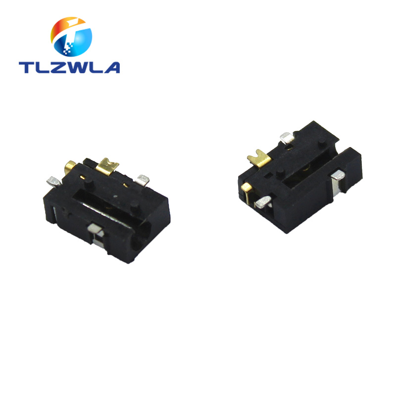 10PCS Female Connector Soldering ROHS DC-056 DC Power Socket DC056 2.5-0.7 MM 2.5X0.7MM SMD SMT 5PINS Tablet Power Sockets