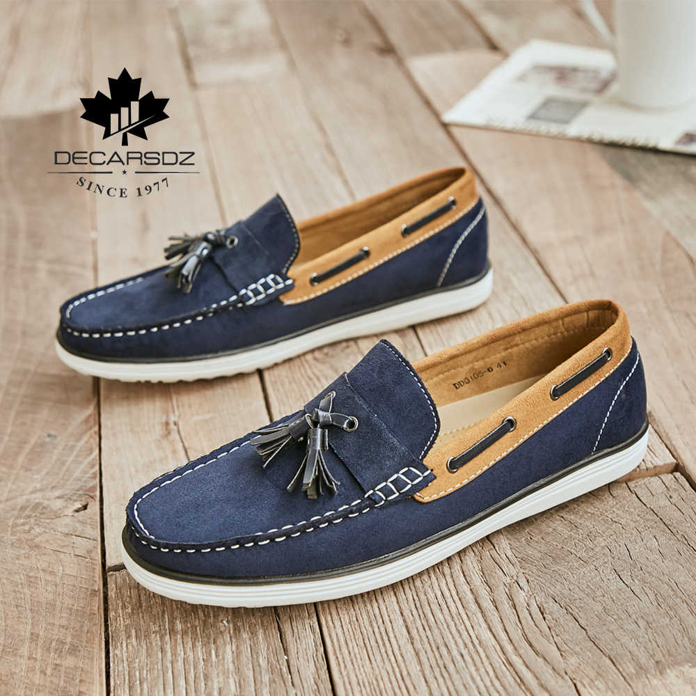 Mens Casual Shoes Summer Breathable Driving Loafers Slip On Moccasins SZ 40-44