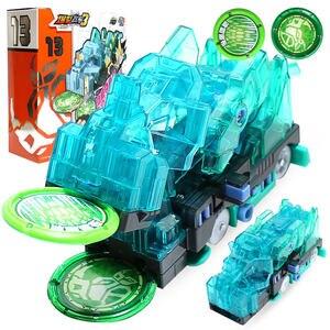 Image 1 - 2019 seria prędkości Screechers dzikie deformacji samochodu Action Figures wiele układu uchwycić wafel 360 klapki transformacji samochodzik zabawka