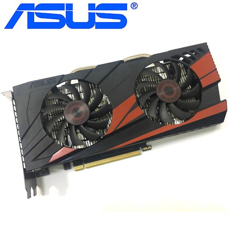 Видеокарта ASUS GTX 960 бывшая в употреблении, 128-битные видеокарты с памятью GDDR5 2 ГБ, выходами VGA и HDMI и поддержкой процессоров nVIDIA Geforce GTX960, GTX 750, Ti 950, 1050, 1060-1