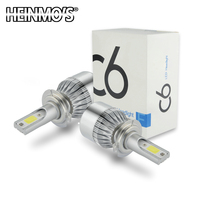 2*72W 7600LM COB H8 H9 H11 led headlights H7 9005 HB3 HB4 9006 H11 H10 H1 H3 880  LED headlight bulbs headlamp LED Car headlight|h11 led headlight|led headlight h7|headlight h7 -