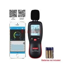 Registador de dados 30 130130dba do medidor do nível de som de digitas db com intervalo de amostragem do tempo real e ajuste do valor do alarme