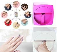 Auto 3D digital nail printer device mobile type for artificial and ture nails nail art manicure salon