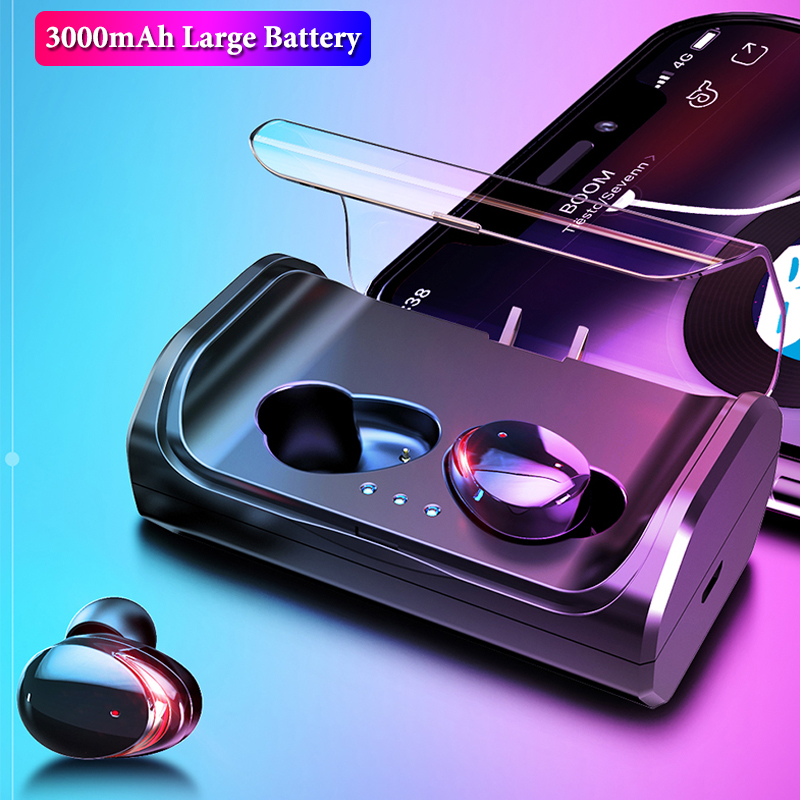 <font><b>TWS</b></font> <font><b>T8</b></font> True Wireless Earbuds Touch Control Bluetooth 5.0 Earphone IPX6 Waterproof Stereo CVC8.0 Noise Cancelling Headphones image