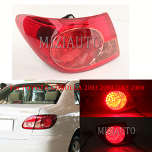 For TOYOTA COROLLA 2003 2004 2005 2006 Outer side Rear tail light turn signal taillights Rear Bumper Light Tail Stop Lamp Brake arashi for bmw r1200gs 2004 2007 e mark brake turn signal tail light rear tail light led light r 1200gs r1200 gs 2007 2006 2005