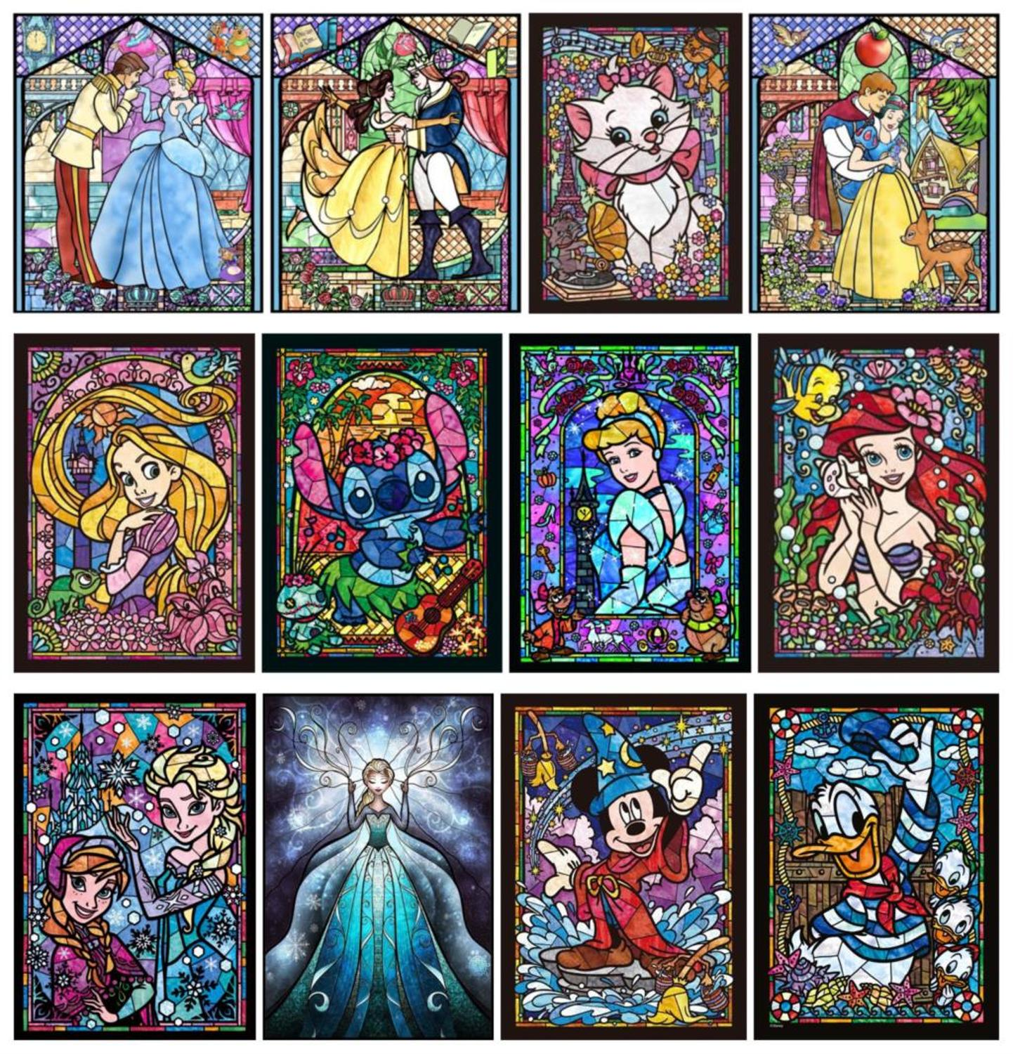 DIY 5D Diamond Painting Kits for Adults Full Drill Cartoons Rhinestone Embroidery Paintings by Diamond Colorful Cross Stitch Arts Crafts for Home Wall Decor Cartoon Ladies(30X40cm)