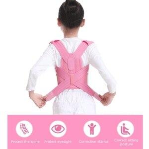 Image 5 - Correcteur de Posture de soutien lombaire pour enfants, dispositif respirant, Durable et confortable, Support lombaire