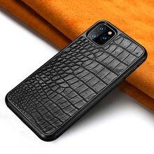 Высококачественный кожаный чехол для телефона в деловом стиле