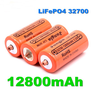 100% Original 32700 12800mAh 3.2V lifepo4 Rechargeable Battery Professional Lithium Iron Phosphate Power Battery with screw