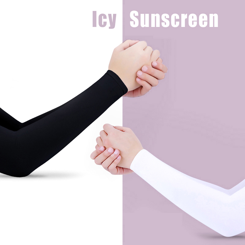 running - Sports Outddoor Arm Sleeve Sun UV Protection Hand Cover Cooling Warmer Running Fishing Cycling Ski mangas para brazo