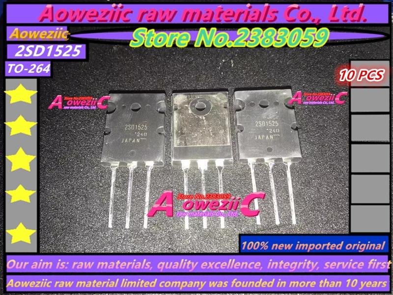 Aoweziic  100% New Imported Original  2SD1525  D1525 TO-247 High Power Darlington Tube 100V 30A