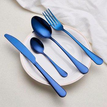 Spklifey Cutlery Stainless Steel Cutlery Fork Spoon Knife Set Tableware Dinnerware Set Knife Fork Spoon Wedding Silverware Set