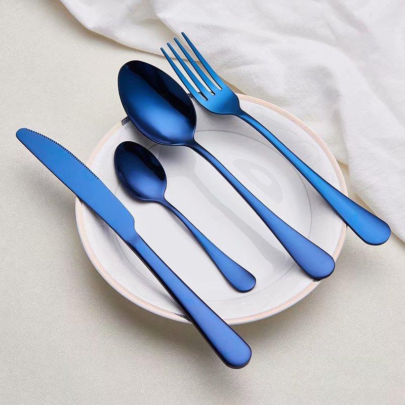 Spklifey столовые приборы из нержавеющей стали, столовые приборы, вилка, ложка, нож, набор посуды, столовые приборы, нож, вилка, ложка, свадьба набор серебряных изделий Столовые сервизы      АлиЭкспресс