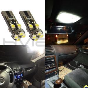 Image 3 - 10X Canbus Xenon Белый 194 3528 8 Smd без ошибок Obc Автоматическая внутренняя светодиодная подсветка светильник задний фонарь запасной светильник лампа для парковки Cob Светодиодная лампа