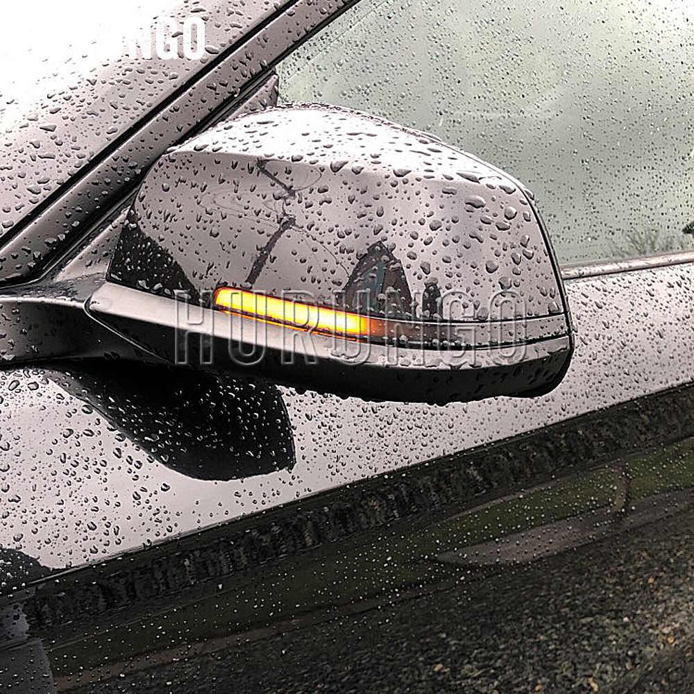 Năng Động Blinker Nhan LED Cho Xe BMW F20 F30 F31 F21 F22 F23 F32 F33 F34 X1 E84 F36 1 2 3 4 F87 M2 Ánh Sáng