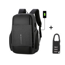 Men's backpack large capacity waterproof and wearable backpack multi-function travel bag business computer bag mochila