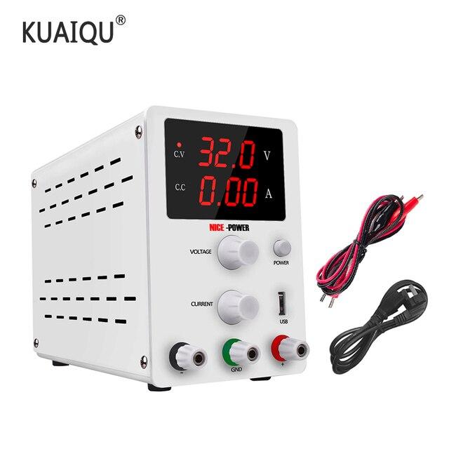 Lab Adjustable Power Supply 60V 5A  30V 10A Laboratory Voltage Regulator Source Switching Mini Unit Voltage Stabilizer 110v 220v