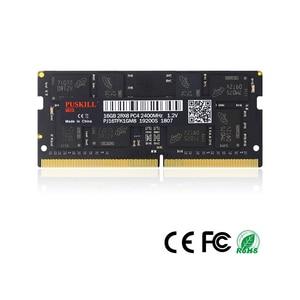 Image 2 - PUSKILL memoria Ram DDR4 8 ГБ 4 ГБ 16 ГБ 2400 МГц 2133 2666 МГц sodimm ноутбук высокая производительность памяти ноутбука
