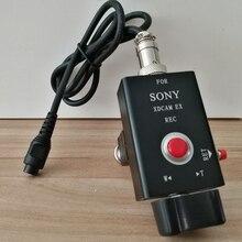 Controlador de acercamiento remoto de cámara para cámaras de SONY, incluye EX1,EX1R,EX3,EX260,EX280,X280