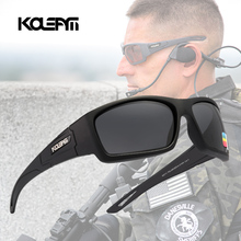KDEAM Luxury Eyewear Army Outdoor Sunglasses for men Polarized lens Classic Design fishing Glasses KD711