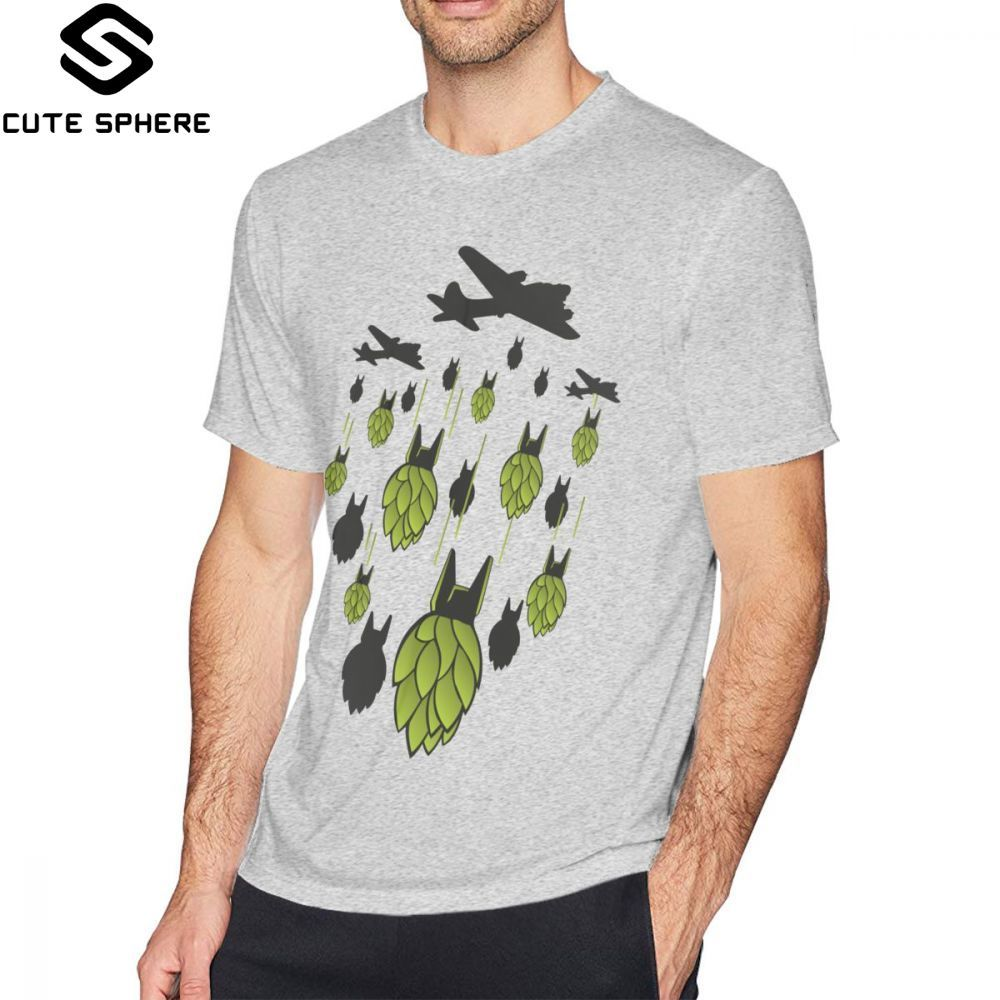 Hop T Shirt Hop Bomber T-Shirt Graphic 100 Percent Cotton Tee Shirt Mens 5x Summer Funny Short Sleeves Tshirt