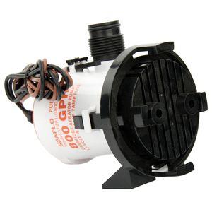 Image 4 - 12v 800GPH deniz sintine pompası tekne sintine su pompası yan montaj süzgeç tabanı