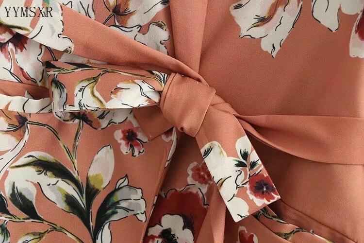 Women's summer printed suit 2020 new casual slim flower long sleeve ladies blazer Fashion feminine jacket